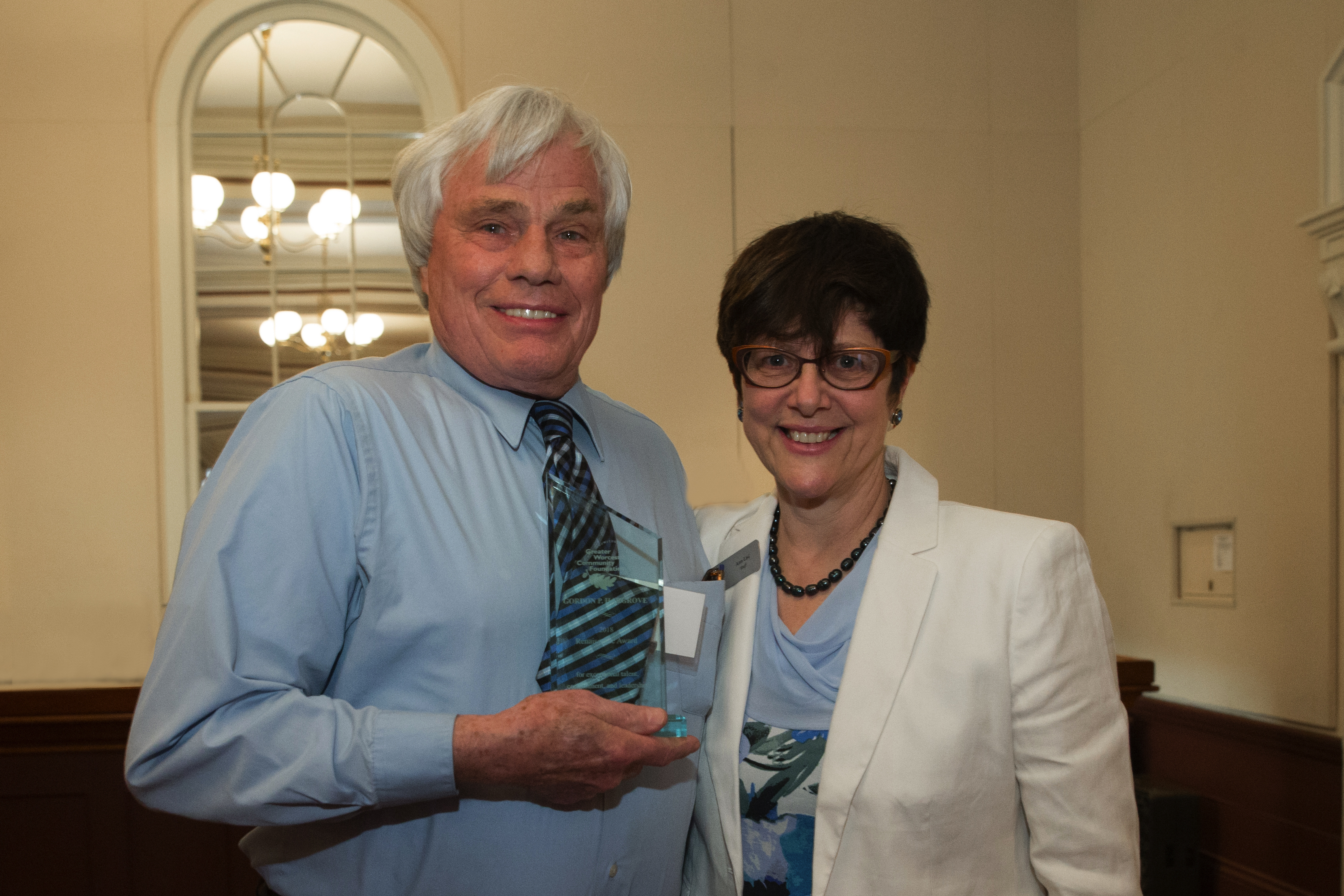 Gordon Hargrove Receives Greater Worcester Community Foundation's Renaissance Award